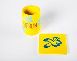 Philip Ocampo: Souvenir Sculptures (Berlin): cup +coaster