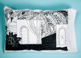 Alicia Nauta: Winter Solstice Pillowcases