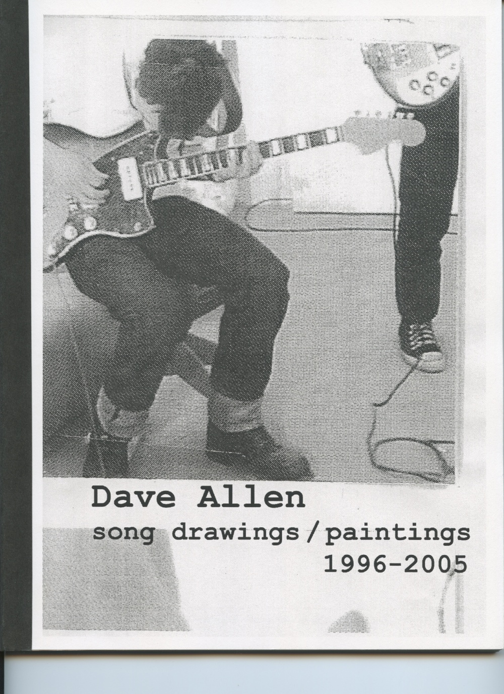 AMP0504 Song Drawings/ Paintings 1996-2005, Dave Allen