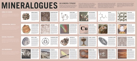 Randy Lee Cutler: MINERALOGUES: An Elemental Typology
