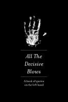 Erdem Taşdelen: All the DecisiveBlows