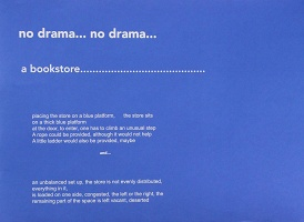 Julien Jonas Bismuth and Jean-Pascal Flavien: no drama…no drama…a bookstore