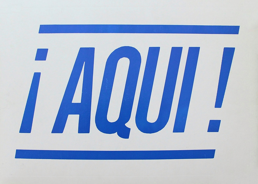AQUI Poster : General Idea