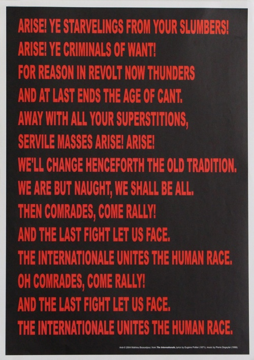 Arise! (The Internationale)