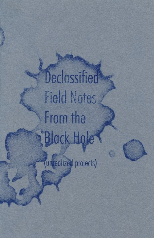DECLASSIFIED FIELD NOTES FROM THE BLACKHOLE