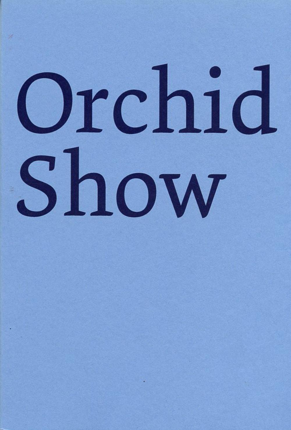 Derek Sullivan Orchid Show