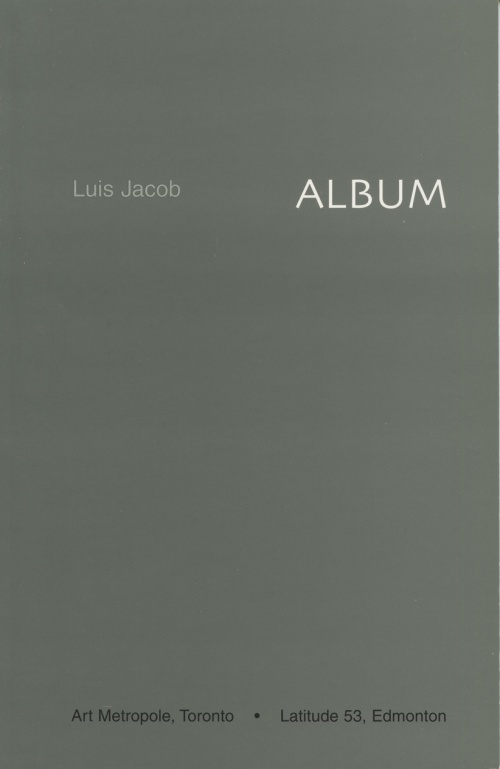 AMP0204 Album, Luis Jacob