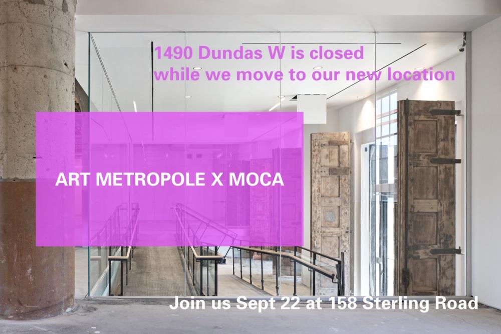 Art Metropole X MOCA header