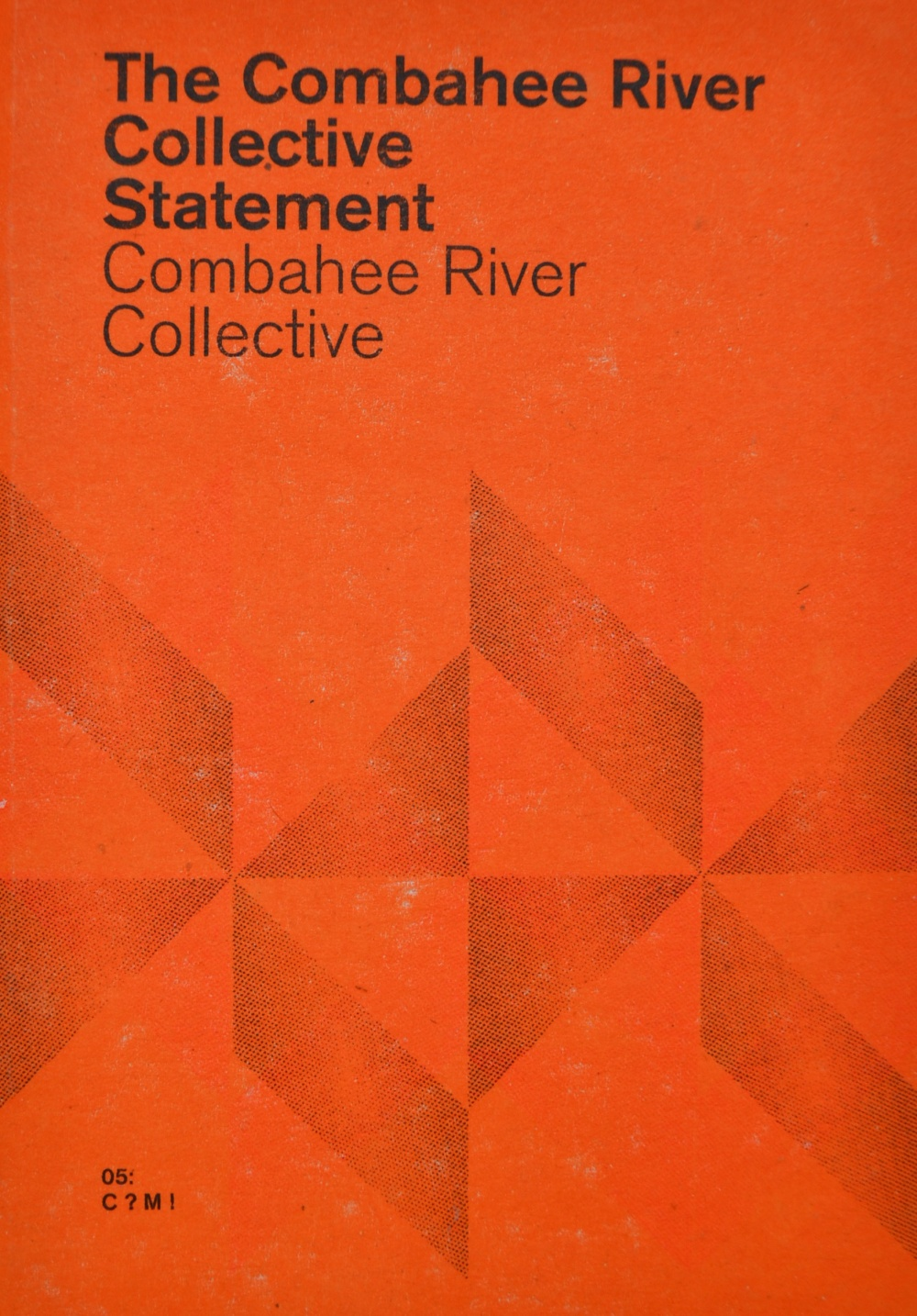 The Combahee River Statement