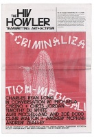 The HIV Howler: Transmitting Art and Activism, Issue 1: Criminalization-Medicalization