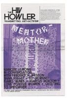 The HIV Howler: Transmitting Art and Activism, Issue 2: Mentor-Mother