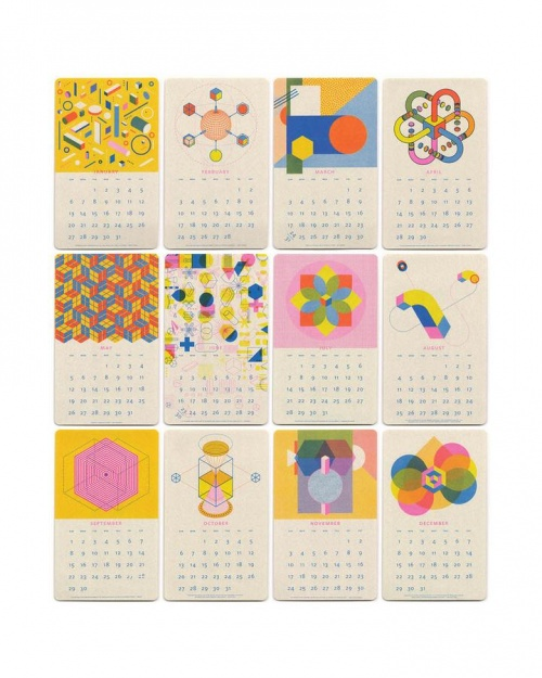 2019 Isometric Calendar