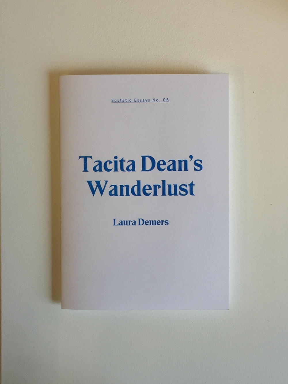Tacita Dean's Wanderlust