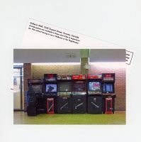Shari Kasman: Galleria Mall Arcade Games Postcard