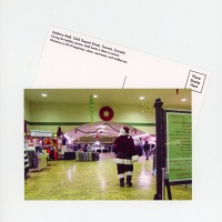 Shari Kasman: Galleria Mall Santa Postcard