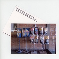Shari Kasman: Galleria Gumball Machines Postcard