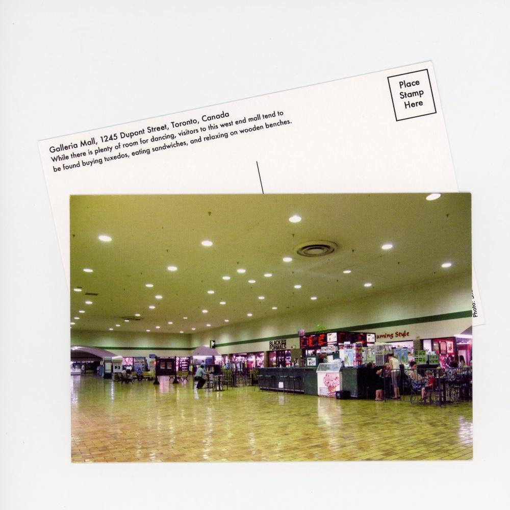 Galleria Mall Postcard