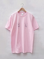 Sara Kay Maston, Veronique Sunatori, XVK, and Xuan Ye: XVK 30% 80% Sweet Tee (Baby Pink)