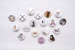 XVK Button Pack (set of 8)