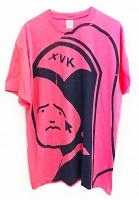 XVK Mascot Girl Tee (HighlighterPink)