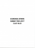 Ari Marcopoulos: Exarcheia Athens Sunday Feb.5.2017 13:07-16:51