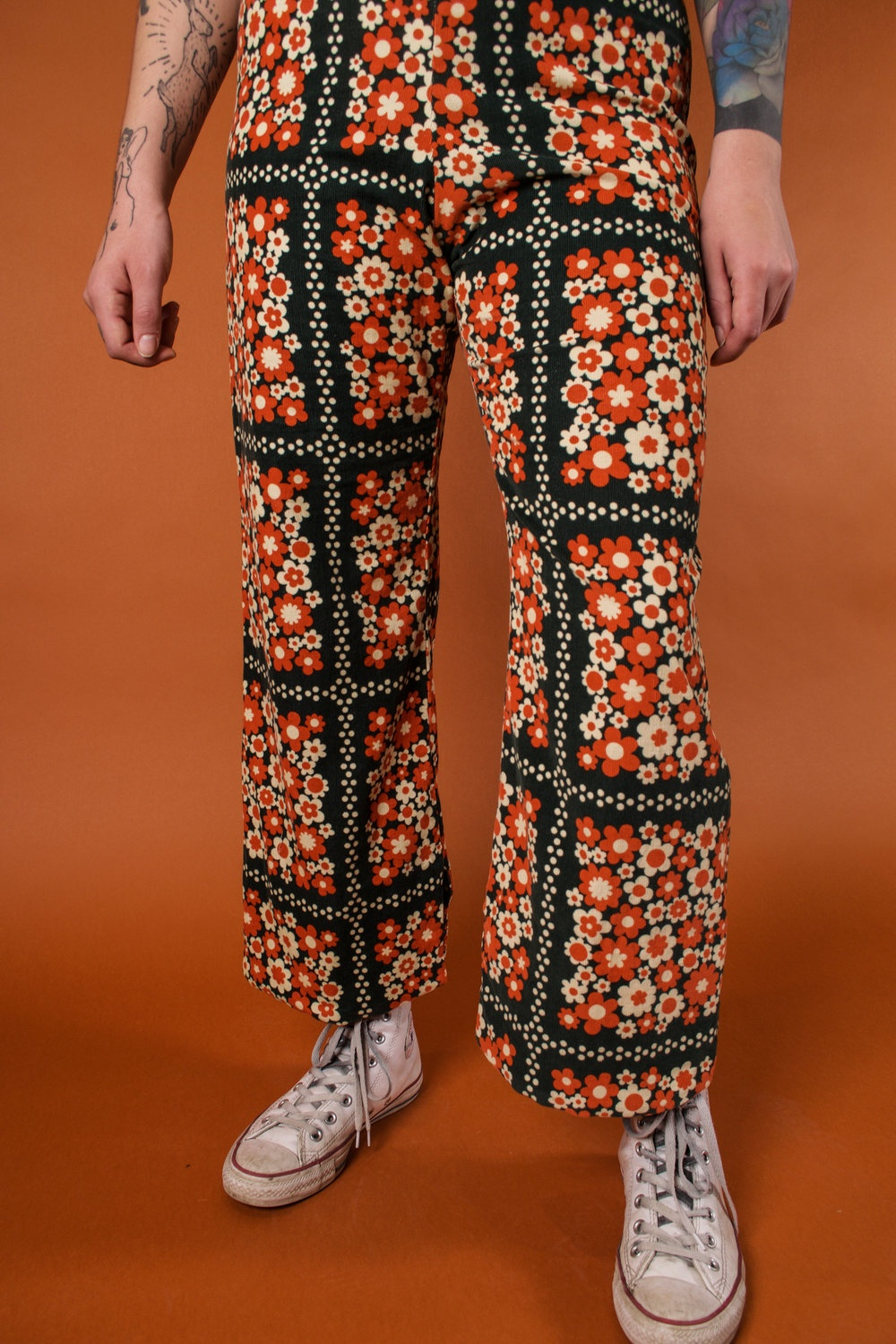 the pants flower power