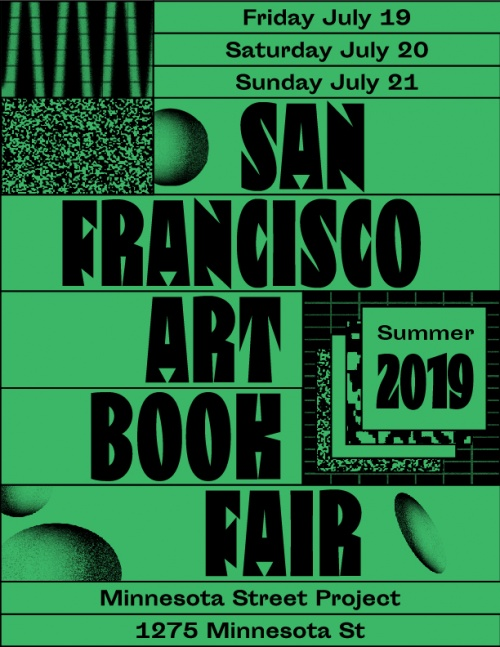 SanFran Art Book Fair 2019