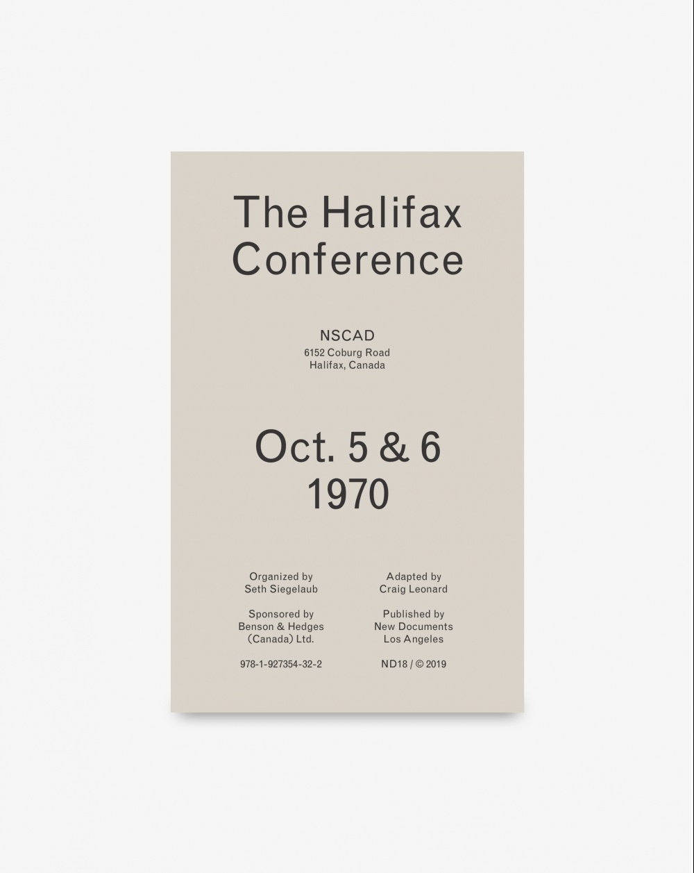 Halifax Conference