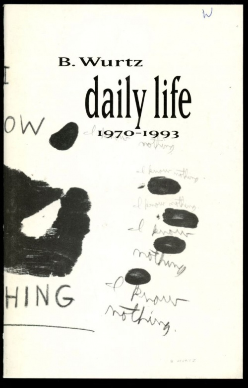B. Wurtz: Daily Life 1970-1993 cover