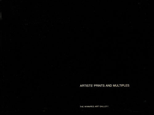 Artists' Prints and Multiples cover