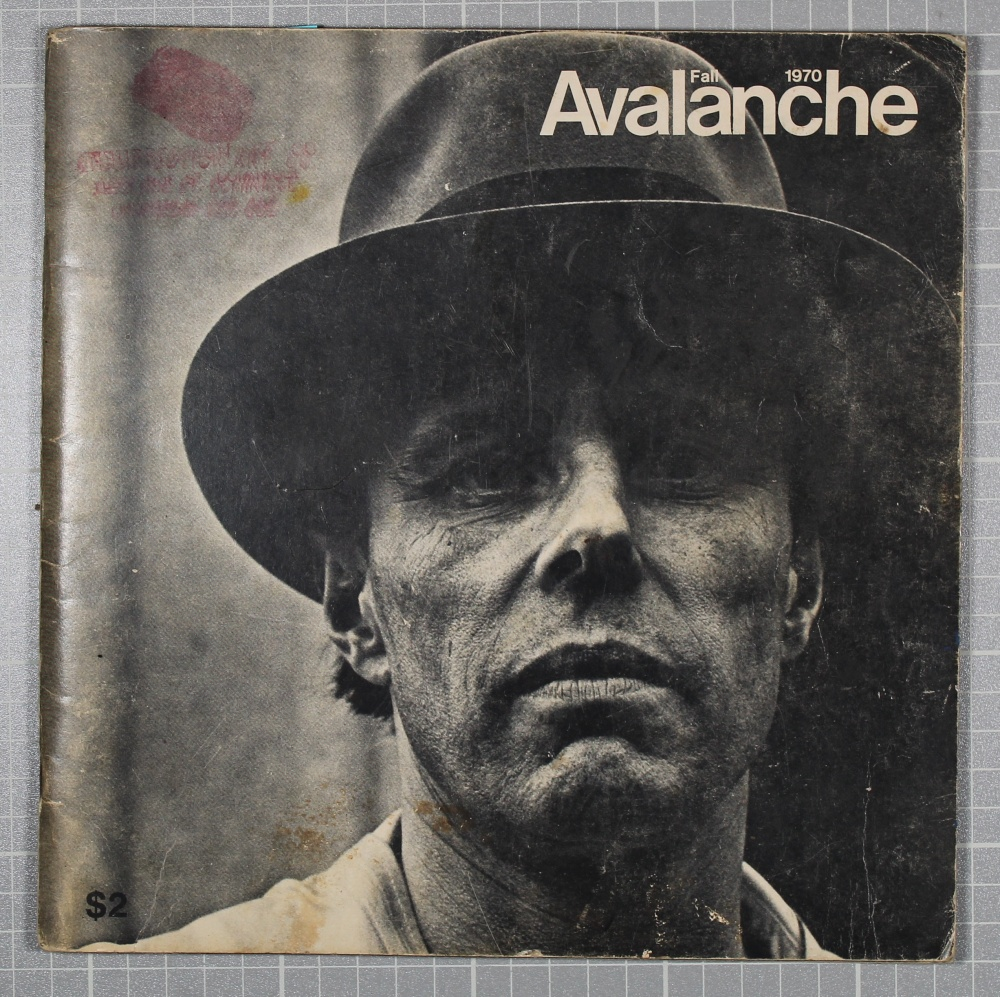 Avalanche Fall 1970