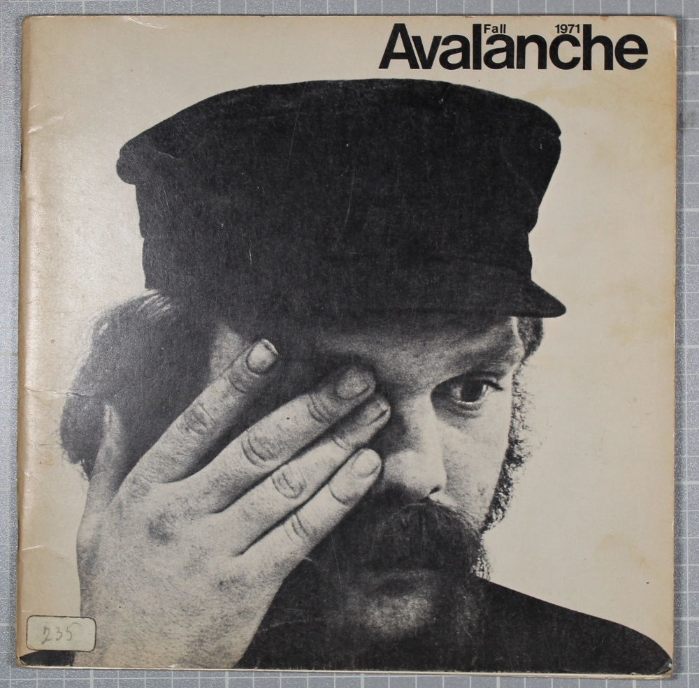 Avalanche Fall 1971
