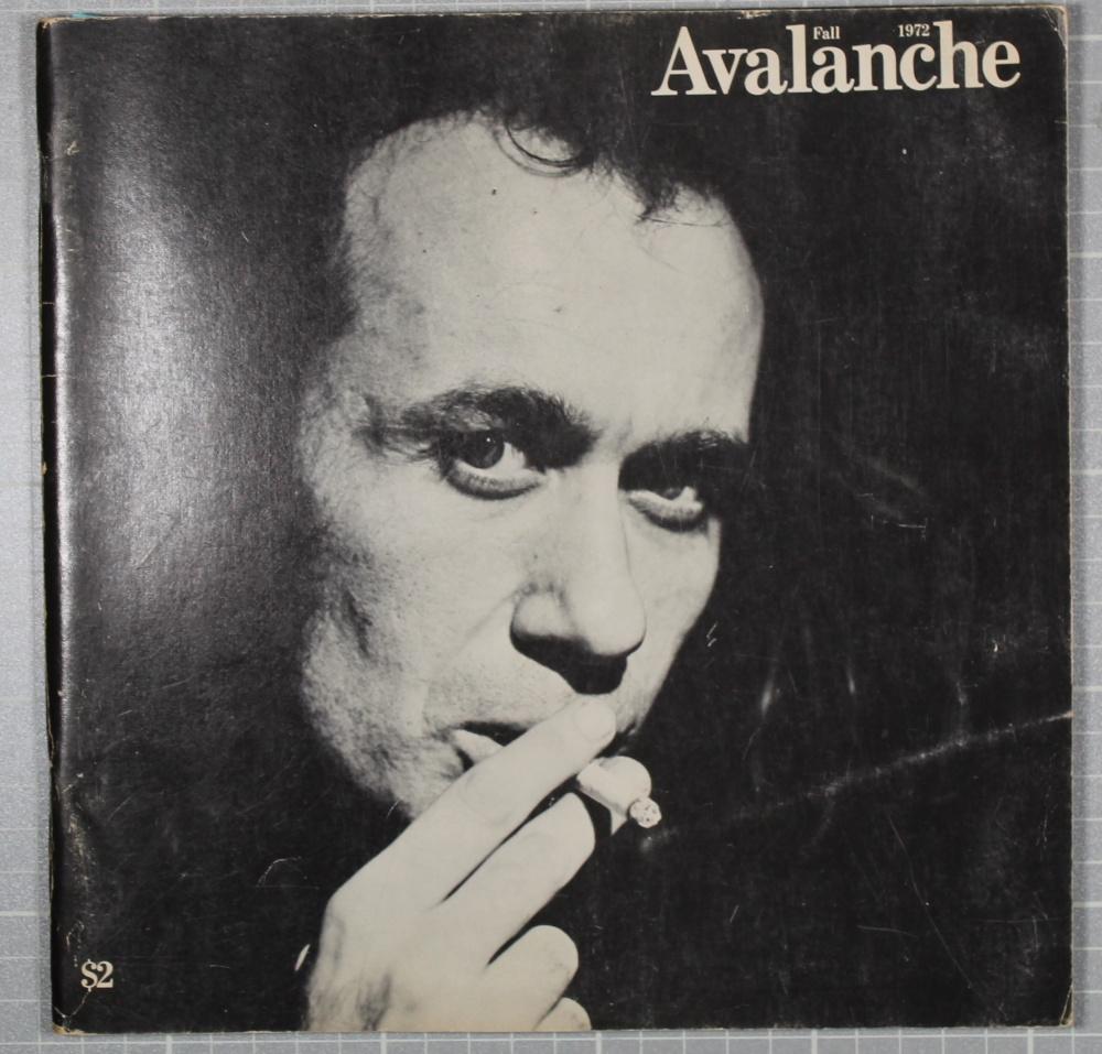 Avalanche fall 1972