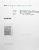 Michael Asher and  Rebecca Siegel: Public Knowledge