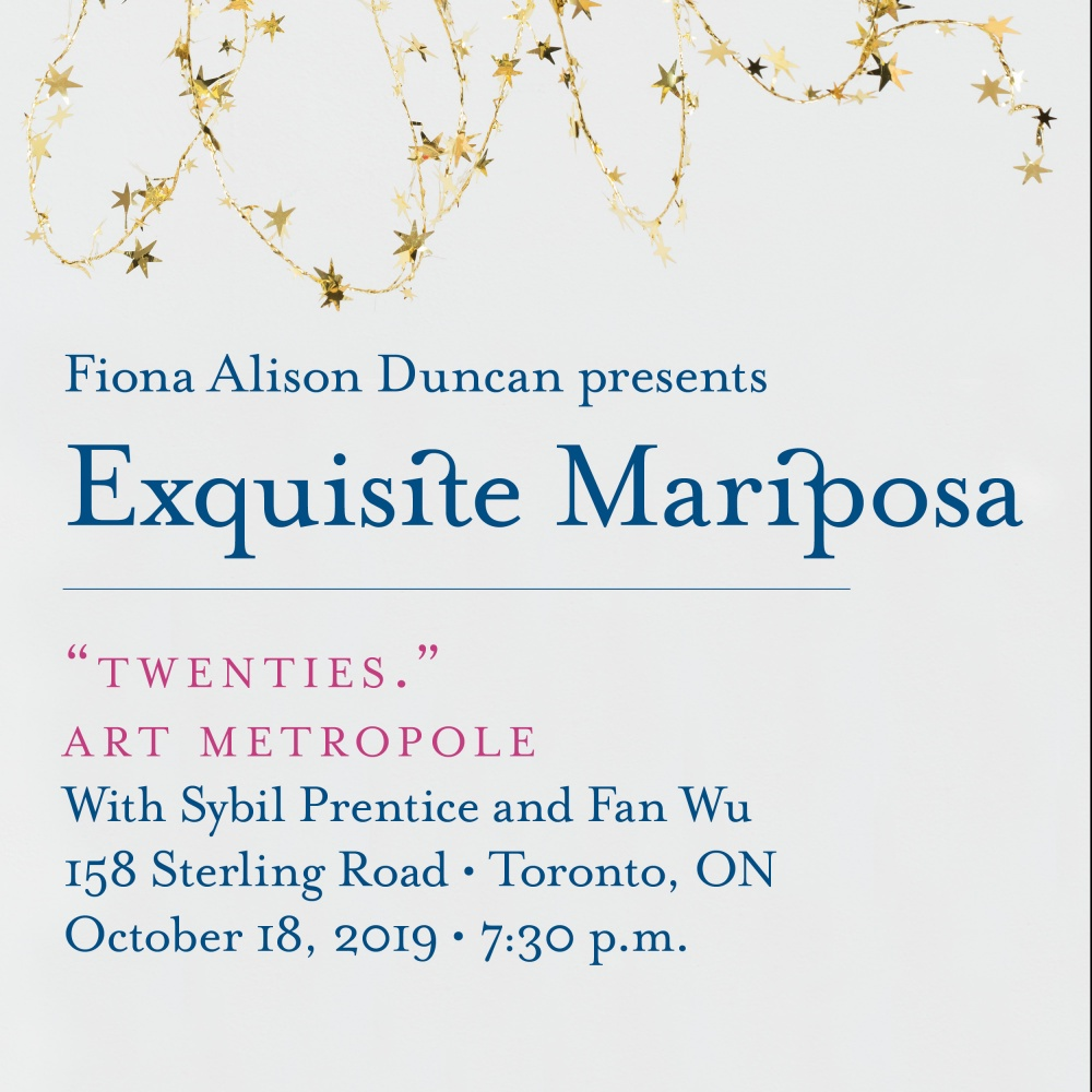Exquisite Mariposa - Toronto Launch