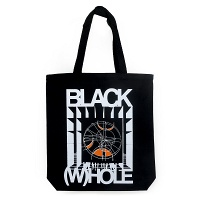 Black (W)hole Tote by Nep Sidhu