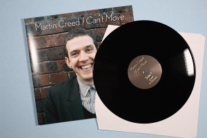 Martin Creed: I Can't Move (vinyl)