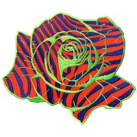 Brendan Fernandes and Inner Decay: BRENDAN FERNANDES ZEBRA ROSE BACK PATCH