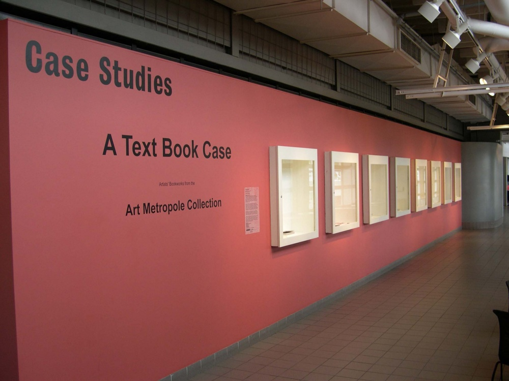 A Text Book Case: Artists's Book Works from the Art Metropole Co