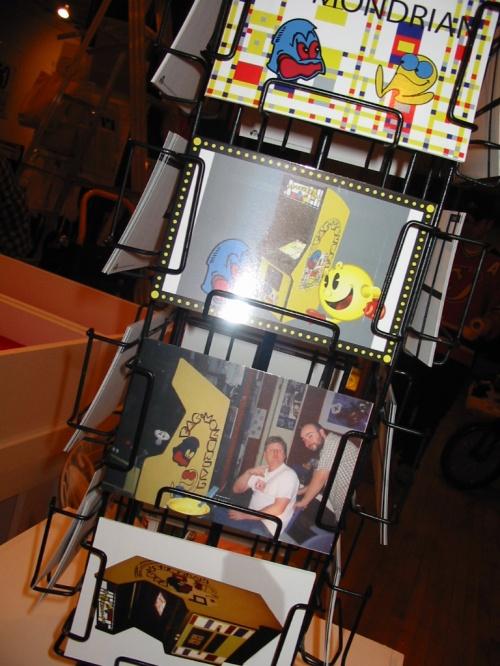 Edition launch for Pac-Mondrian: Postcard Portfolio