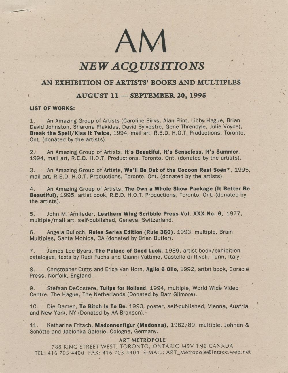 AMA9507.1, page 1