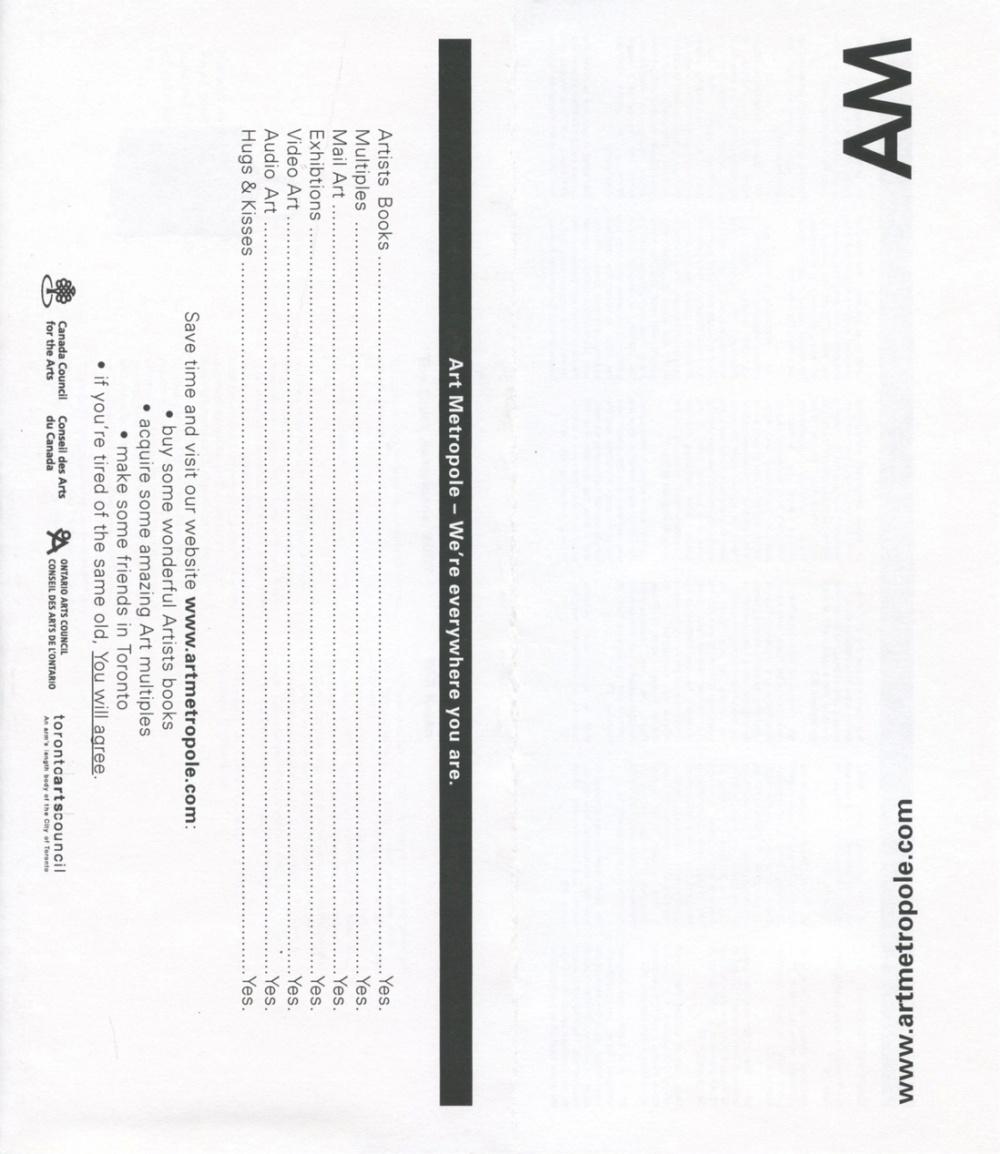AMA0729, cover
