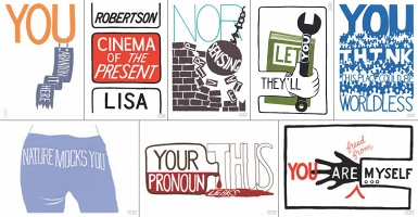 Lisa Robertson: Cinema of the Present Poster Set