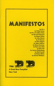 Great Bear Pamphlet: Manifestos
