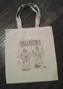 Morons book bag