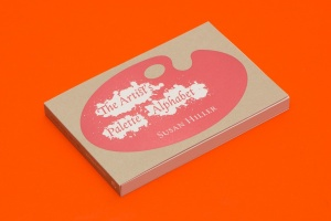 Susan Hiller: The Artist's Palette PostcardAlphabet