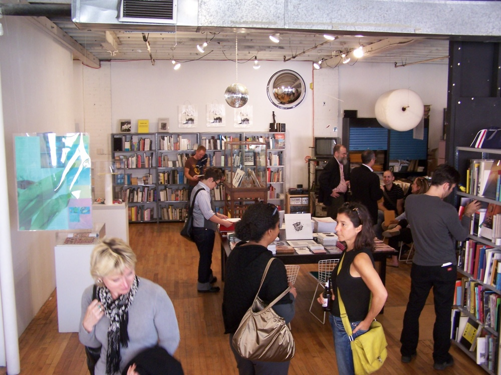 Opening for Artists' Books, Revisted