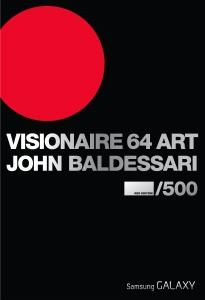 Visionaire 64 Art: Five Baldessari Shapes - Red