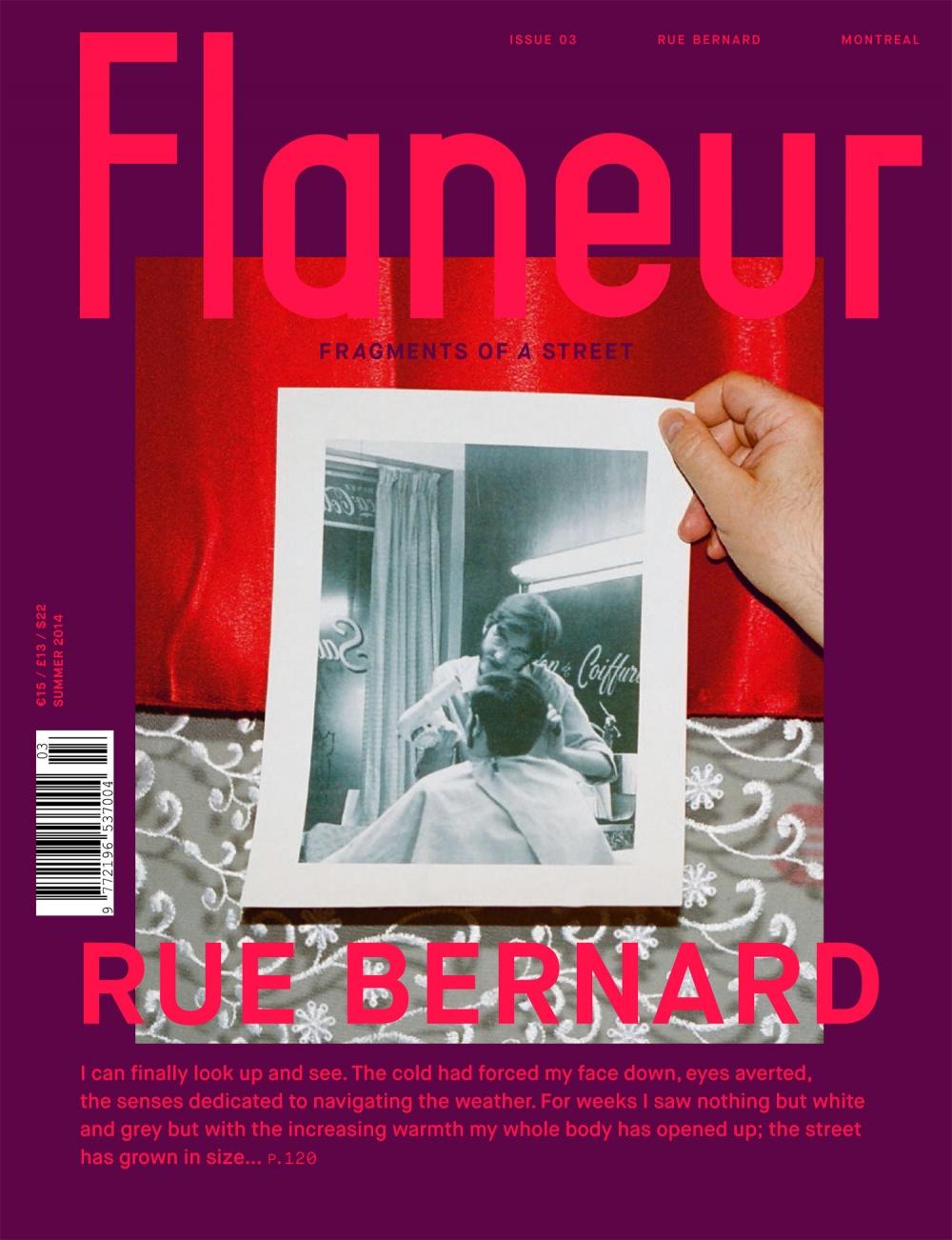 Flaneur Issue 3: Rue Bernard