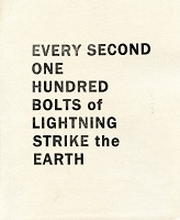 James Hoff: Every Second One Hundred Bolts of Lightning Strike theEarth